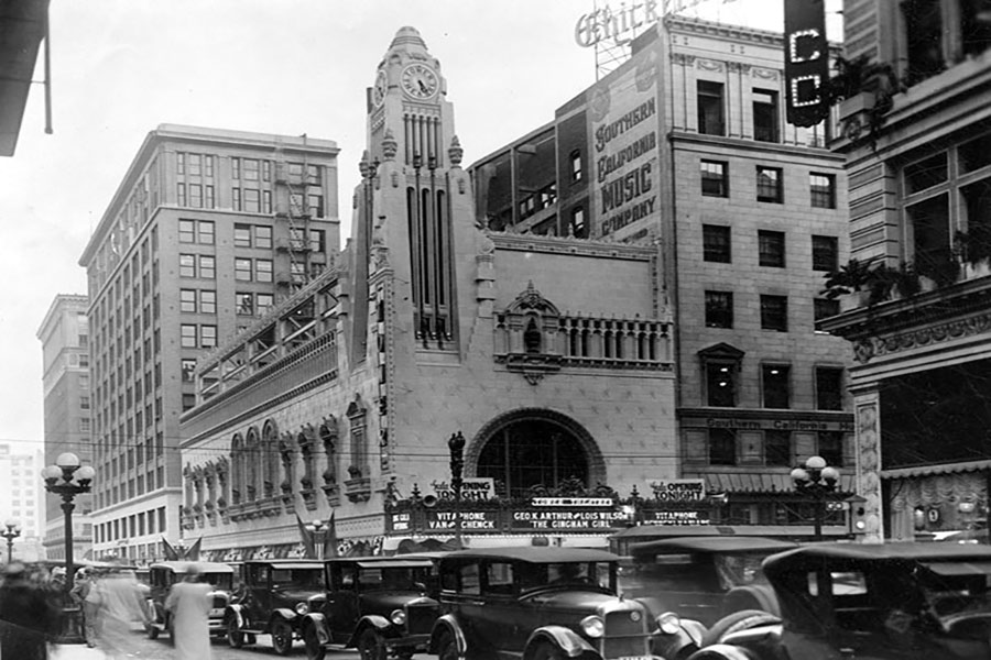 tower theater building 1927